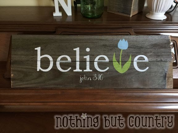 Easter Decorations Made From Old Fence Boards Nothing But Country