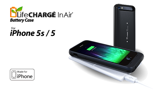 LifeCharge Battery Case with Wireless Charging Is a Powerful Case