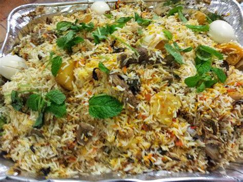 zulfaza loves cooking nasi beriani pakistan ayam