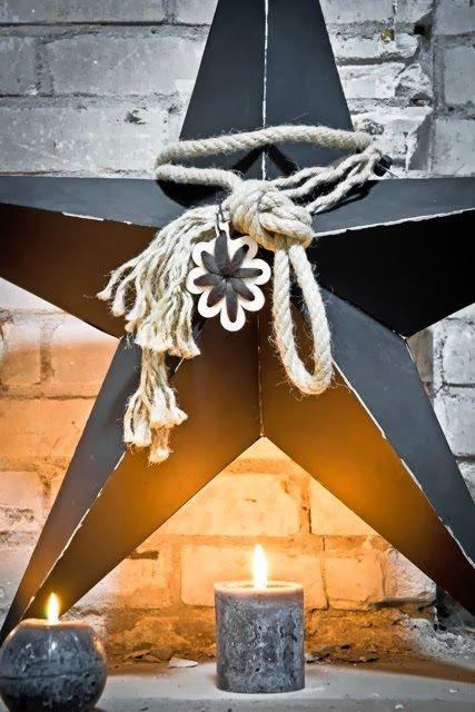 Étoiles Black  et candle ´s ...