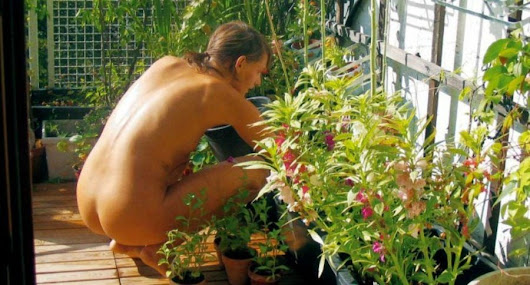 World Naked Gardening Day is May 6th