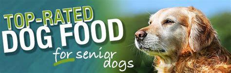 dog food  senior dogs