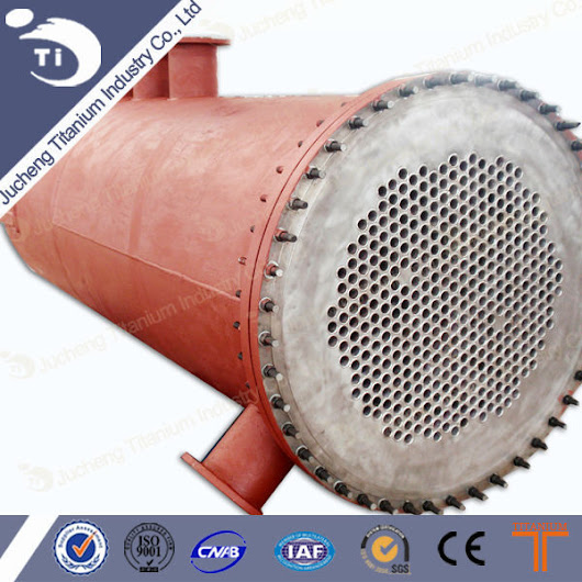 China Titanium Condenser Manufacturers, Suppliers, Factory, Wholesale - Products - Baoji Jucheng Titanium Industry Co.,Ltd