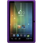 Refurbished Ematic 7 inch Capacitive Multi-Touch Screen 4GB WiFi Tablet Android 4.2 - Purple