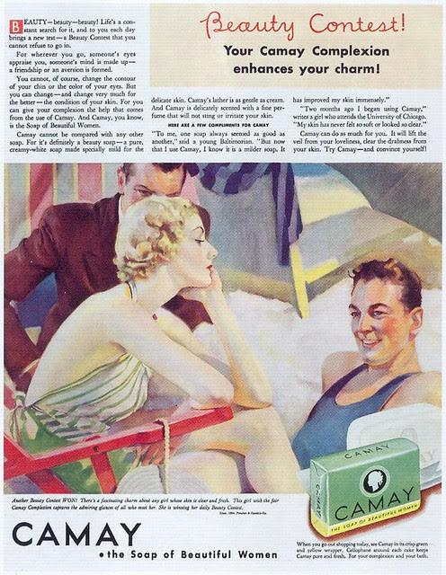 Camay Beauty Soap, 1934