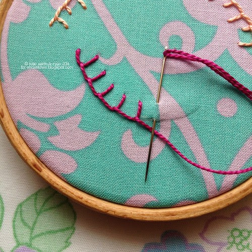 Blanket Stitch on &Stitches