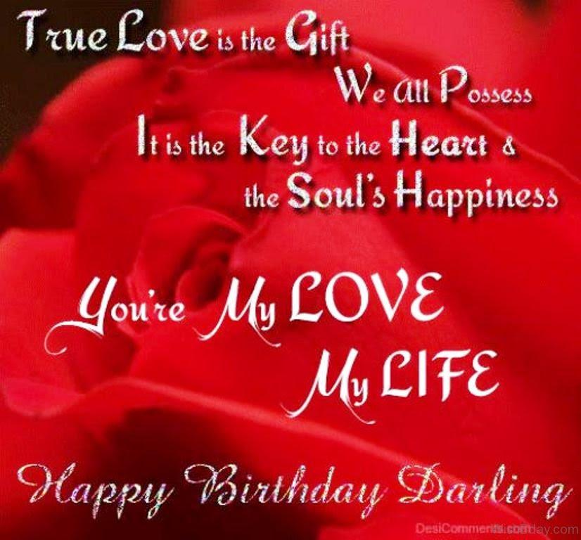 60 Love Birthday Wishes