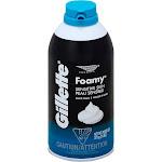 Gillette Foamy Shaving Cream, Sensitive Skin - 11 oz can