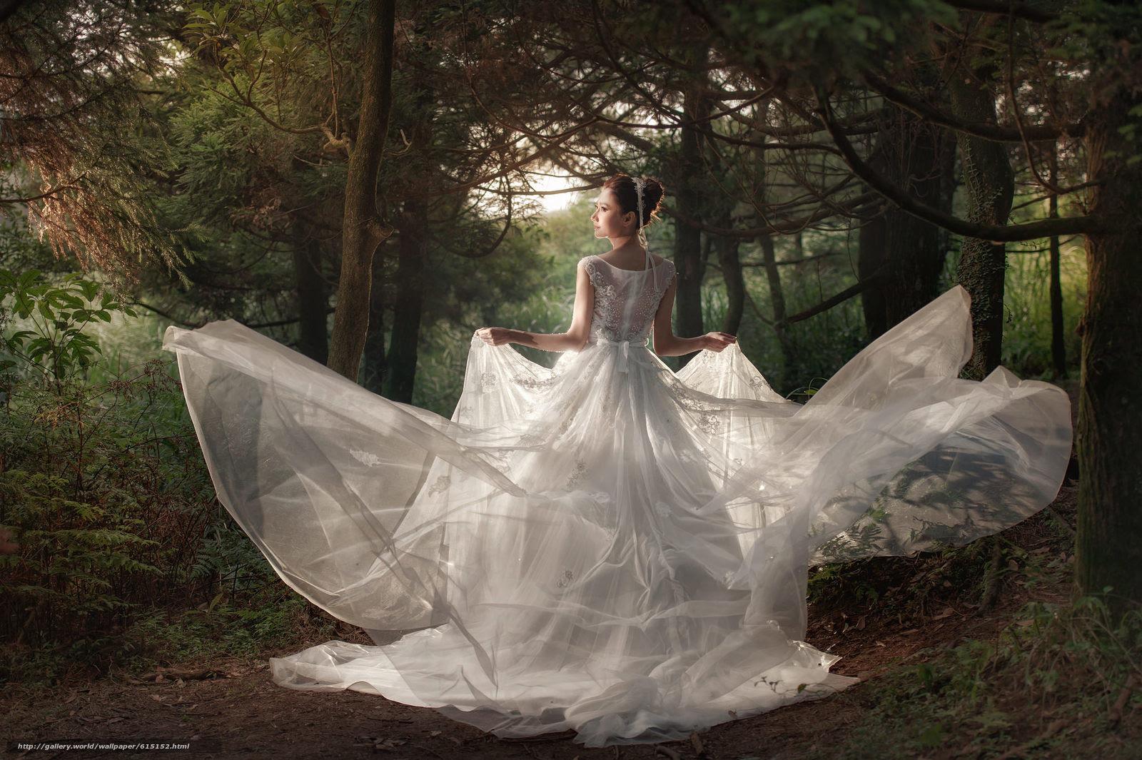 壁紙をダウンロード 結婚式 花嫁 ウェディングドレス ドレス