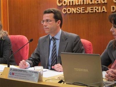 El consejero de Sanidad, Javier Fernández Lasquetty. EUROPA PRESS