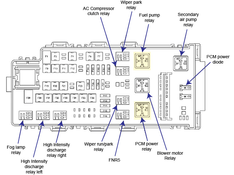 2007 Ford Fusion Belt Diagram