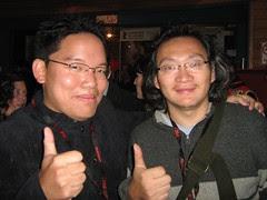 With director Hu Shu