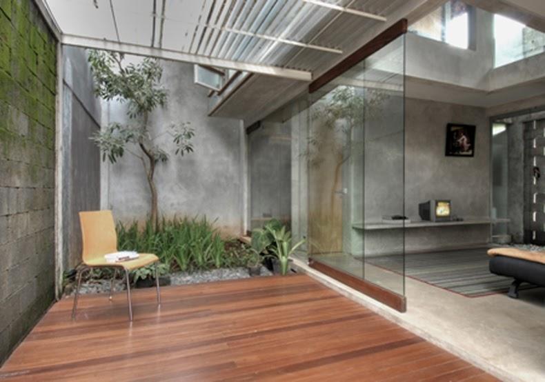 Teknik Finishing dinding dengan Beton expose - Artikel