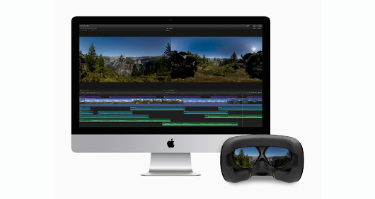 Final Cut Pro X update adds 360-degree VR video editing