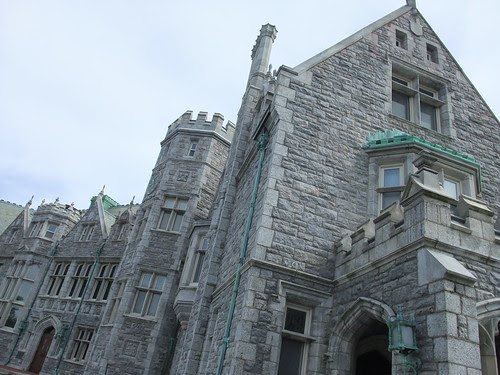 UConn campus is castlelike