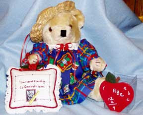 Teacher Bear, gift for female teacher
