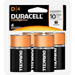 Duracell Battery - D - Alkaline