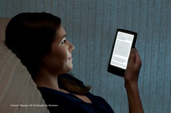 Bookeen's Cybook Odyssey HD FrontLight joins the lit ereader fray