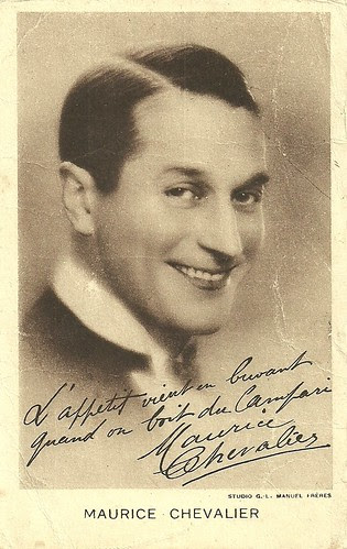 Maurice Chevalier promoting Campari