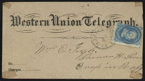 The First Transcontinental Telegram Was Sent to DC 155