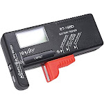 Hapurs Universal Digital Battery Tester Volt Checker for AA AAA C D 9V 1.5V... by Adesso Power