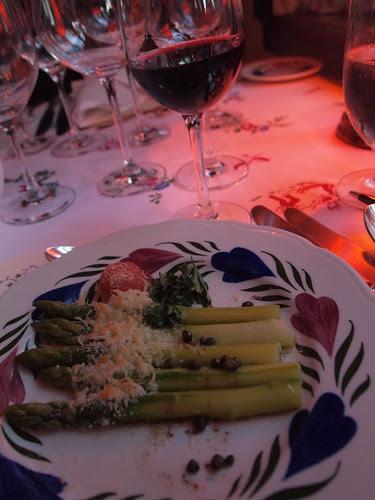 1st course: Asparagus