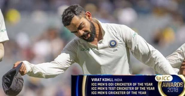 King Kohli Ruling World Cricket like a Boss, ‍Becomes First Player to bag Top 3 ICC Awards in a Single Year