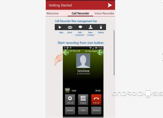 como grabar llamadas telefonicas en android 2 Cómo grabar llamadas telefónicas en Android