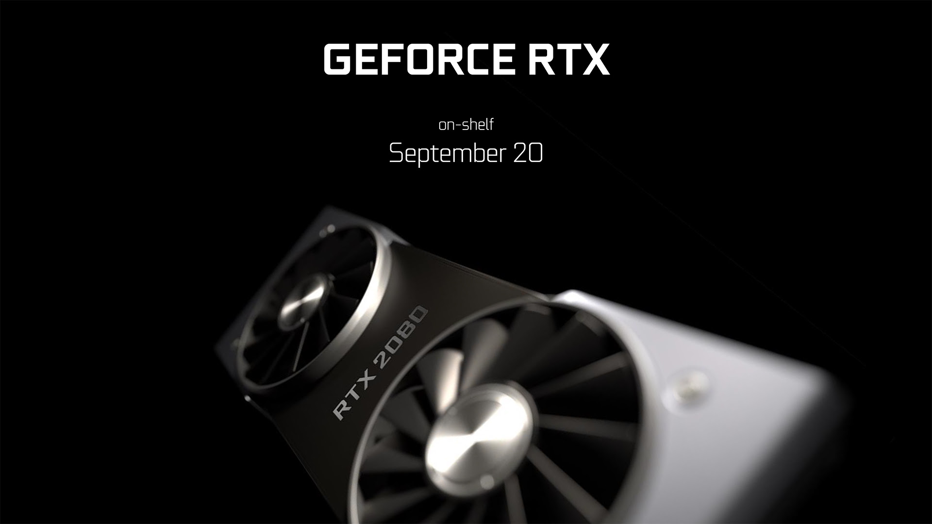 Nvidia Turing release date, news and features