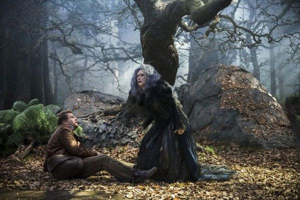 Into The Woods Images Reveal Prince Chris Pine And Johnny Depp's Big Bad Wolf - CINEMABLEND