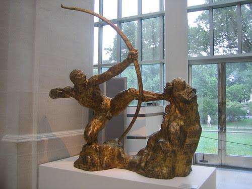 Herakles the Archer, 20th century, Emile-Antoine Bourdelle _8269