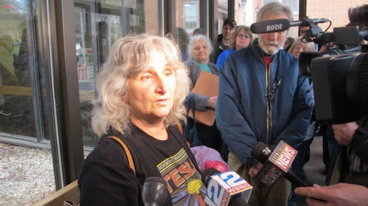 Activist fined $1,000 for violating order to stay off gas sites