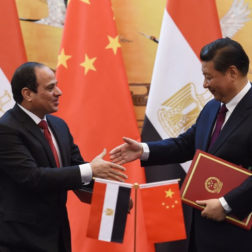 China spends billions in Egypt to woo the 'Arab Street' by The China Africa Project