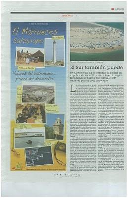 Una más de El País con el Sáhara Occidental