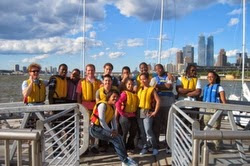 J/24 Hudson River Community sailing team