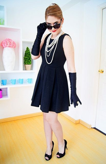 #Halloween #DIY We <3 Audrey Hepburn!