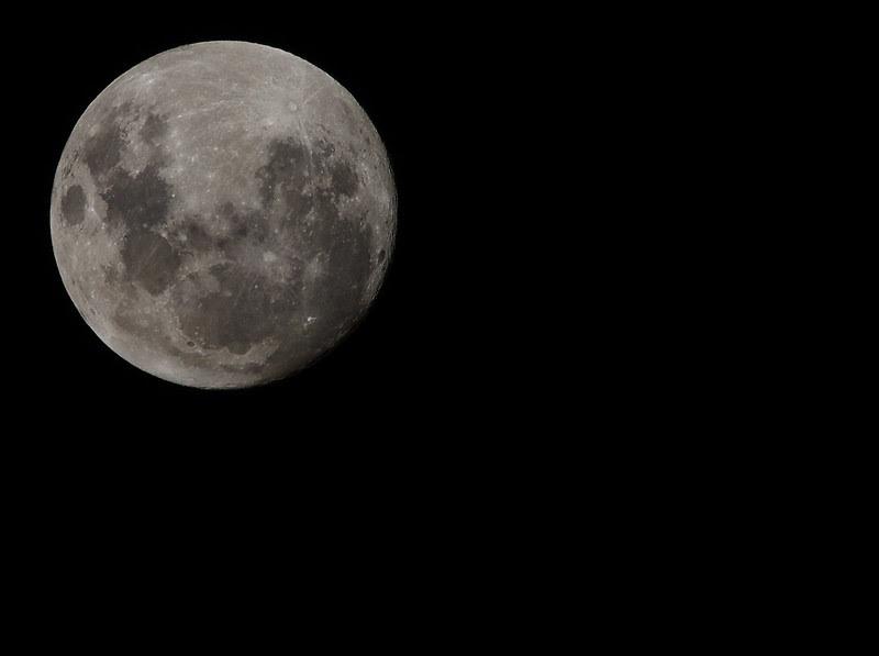la périgée lunaire, Australie - 5 mai 2012