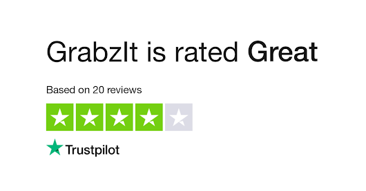 "GrabzIt is rated ""Excellent"" with 9.0 / 10 on Trustpilot"