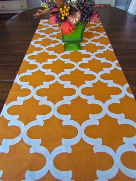 SIMPLYTABLERUNNERS ORANGE TABLE runner 12 x 48 Orange Table