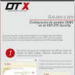 Manuales DTX Security