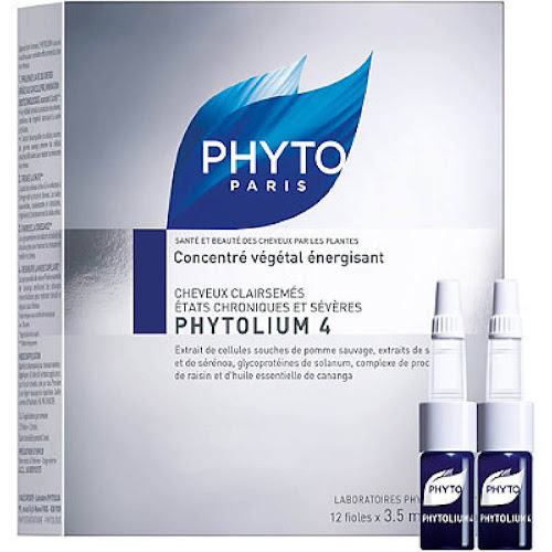 Phyto Phytolium 4 Energizing Botanical Concentrate, 0.118 oz vials - 12 count