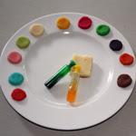 Gâteau Danniversaire Palette De Peintre