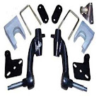 """Jake's E-Z-GO Golf Cart 6"""" Spindle Lift Kit Fits 2008-2013 RXV Gas Models. Lower 48 US States Only!"""