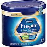 Enfamil Enspire Infant Formula Powder - 20.5 oz tub