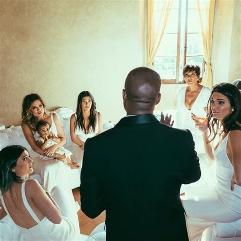 What do the faces of the Kardashian bridesmaids say as