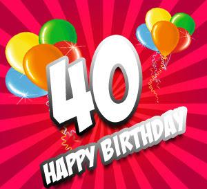 Glückwünsche Und Sprüche Zum 40geburtstag