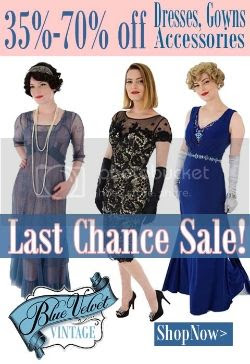 Blue Velvet Vintage online vintage clothing shop last chance sale