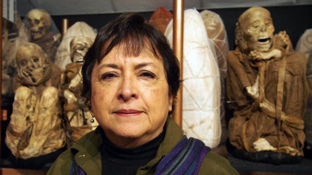 Bio-anthropologist Dr Sonia Guillen (Credit: Credit: Krista Eleftheriou)