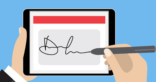 How to Add Your Signature to Electronic Documents