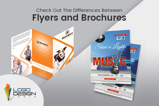 Check Out The Differences Between Flyers and Brochures
